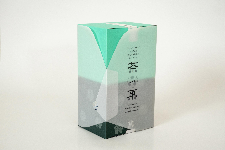 ememデザイン室 一言茶菓 茶クッキー カートン hitokoto sakka tea